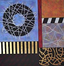 Opening by Emilia Van Nest Markovich (Pastel Painting)