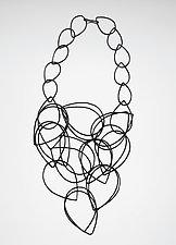 Cascade Necklace by Megan Auman (Steel Necklace)