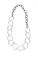 Diana Necklace by Megan Auman (Silver & Steel Necklace)