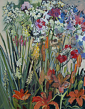 Our Garden by Lila Bacon (Acrylic Painting)