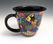 Mug with Classic Design by Jean Elton (Ceramic Mug)