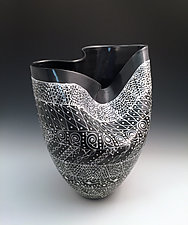 Black and White Vessels by Jean Elton (Ceramic Vessels)