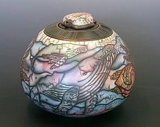 Whale Song by Kate & Will  Jacobson (Ceramic Vessel)