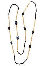 Mini Mari Indigo by Julie Cohn (Beaded Necklace)