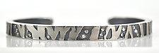 Thin Zebra & Cheetah Print Cuffs by Rebecca  Myers (Gold or Palladium Bracelet)