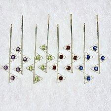 Zag Earrings by Nora Fischer (Silver & Stone Earrings)