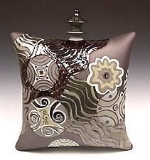 Waterfall by Darlene Davis (Ceramic Sculpture)