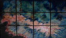 Fourth Star by Cynthia Miller (Art Glass Wall Sculpture)