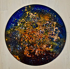 New Star #3 by Cynthia Miller (Art Glass Wall Sculpture)