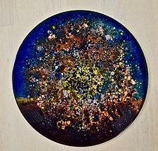 New Star Disc 1 by Cynthia Miller (Art Glass Sculpture)