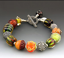 Autumn Bracelet by Dianne Zack (Beaded Bracelet)