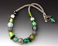 Jungle Pants Necklace by Dianne Zack (Beaded Necklace)