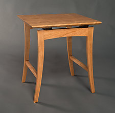 Nanette Side Table by David Kellum (Wood Side Table)