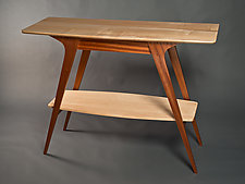 Mid-Century Classic Table by David Kellum (Wood Console Table)