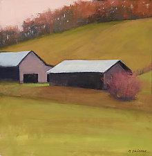Autumn Barn by David Skinner (Giclee Print)