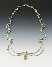 Queen Bee Necklace by Bethany Montana (Gold & Silver Necklace)