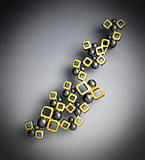 Swarm Brooch by Bethany Montana (Gold & Silver Brooch)