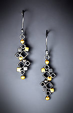 Botanical Dangle by Bethany Montana (Gold & Silver Earrings)