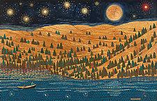 Stars over the Umqua River by Paul Bennett (Giclee Print)