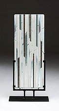 Icicle View by Denise Bohart Brown (Art Glass Sculpture)