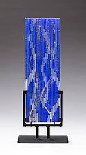 Downstream by Denise Bohart Brown (Art Glass Sculpture)