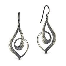 Doodle Earrings by Megan Clark (Silver Earrings)