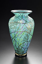Serenity Vase by David Lindsay (Art Glass Vase)