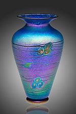 Currents Murrini Vase by David Lindsay (Art Glass Vase)