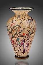 Autumn Vase by David Lindsay (Art Glass Vase)
