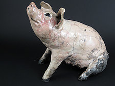 Sow by Ronnie Gould (Ceramic Sculpture)