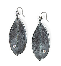 Dew Drop Earrings by Kimberlin Brown (Silver & Stone Earrings)