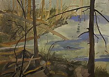 Pond by Diana Arcadipone (Watercolor Painting)