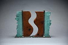 Together by Mark Wentz (Art Glass & Wood Sculpture)