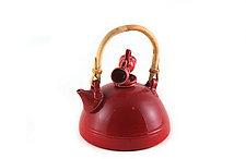 Double Duty Teapot by Carol Tripp Martens (Ceramic Teapot)