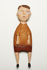 Junior by Amy Arnold and Kelsey  Sauber Olds (Wood Wall Sculpture)