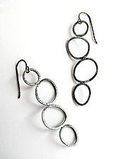 Hopscotch Earrings by Grace Stokes (Silver Earrings)