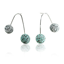 Double Balanced Earrings by Lindsay Locatelli (Polymer Clay Earrings)