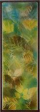 What the Deer Saw XIV by Martha Pfanschmidt (Art Glass Wall Sculpture)