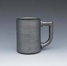 Mugnatious Mug by Gerard Ferrari (Ceramic Mug)