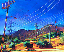 San Gabriel Power by Bonnie Lambert (Oil Painting)