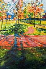 LA Autumn by Bonnie Lambert (Oil Painting)