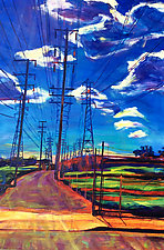 Glorious Afternoon by Bonnie Lambert (Oil Painting)