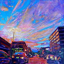 Contrails by Bonnie Lambert (Oil Painting)