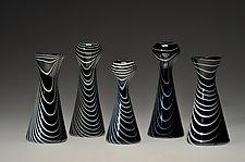 Zebri by David J. Benyosef (Art Glass Vase)