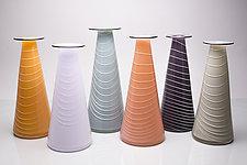 Inverno by David J. Benyosef (Art Glass Vase)