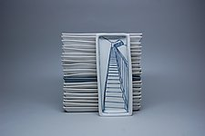 Stairway Trinket Dish by Nicole Aquillano (Ceramic Tray)