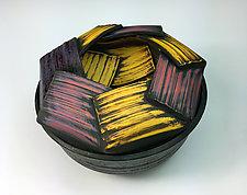 Mise en Abyme Lidded Jar by Thomas Harris (Ceramic Jar)
