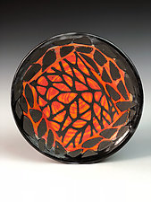 Stone Pattern Plate by Thomas Harris (Ceramic Plate)