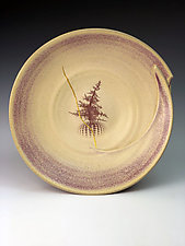 Fibonacci bowl- Kinsugi gold by Thomas Harris (Ceramic Bowl)