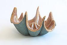 Unfurled by Emil Yanos (Ceramic Sculpture)
